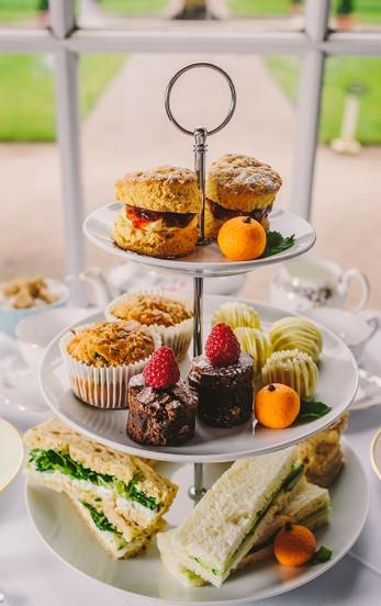 Afternoon Tea at The Orangery Mount Edgcumbe