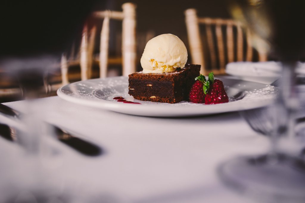 Wedding Dessert Brownie