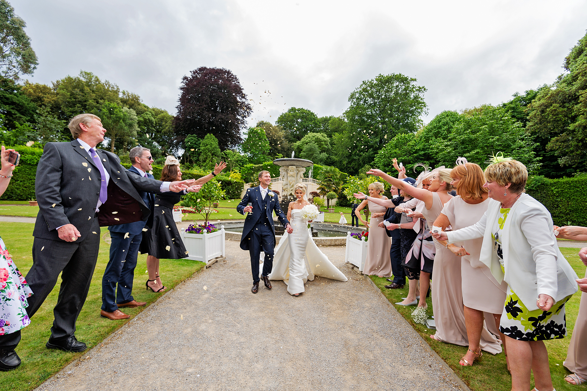 Your big day in the Italian Gardens